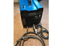 Draper mig welder mwd121at + 4.5kg of wire flux-cored