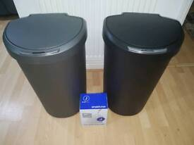2 Simplehuman Automatic Bins and Bags