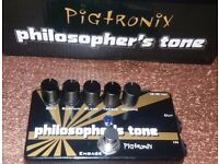PHILOSOPHER'S TONE Compressor Sustainer & Distortion - Excellent Condition - Original box without ps