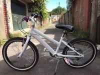 "Girl's Raleigh Krush White 20"" Wheels Bicycle (6+ years)"