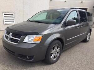 2010 DODGE GRAND CARAVAN SXT STOW &GO, DVD, REAR A/C, CAMERA!!