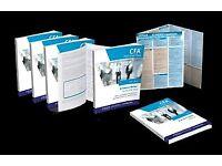 Schweser CFA Level 2 2017 EXCELLENT PRICE All Books + Exams + Cheat Sheet
