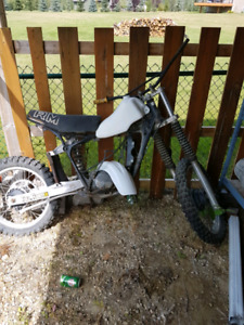 Suzuki RM 125 parts bike