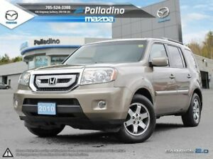 2010 Honda Pilot Touring-LOADED-LEATHER+DVD PLAYER +HEATED SEATS