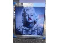 Large square marylin Monroe Liquid Art picture