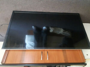 55 inch panasonic lcd for parts or repair. $50 o.b.o.
