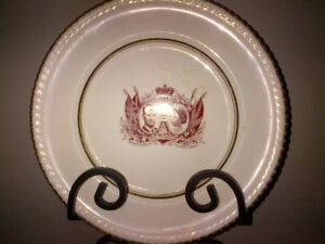 Collector Plate - Queen Visit to Canada