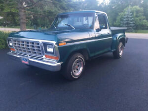 1979 Ford 1/2 Ton Short Wheel Base Step Side