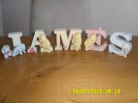 WINNIE THE POOH AND FRIENDS CHINA LETTERS