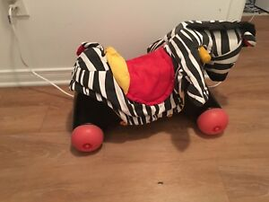 Push and ride horse. AVAILABLE