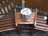Set camping pots
