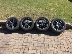 215/45R17 Winter Tires on 5x100 stock Scion FRS Rims