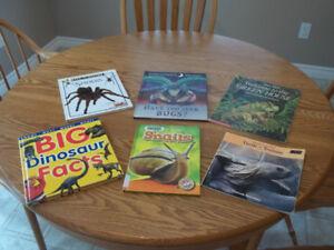 6 Children's Early Reader Animal Books