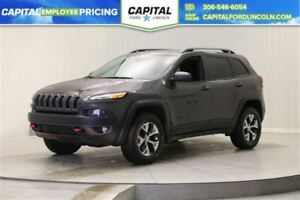 2016 Jeep Cherokee Trailhawk 4WD *Back-Up Camera-Bluetooth*