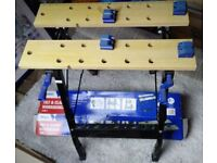 Wickes Tilt and clamp workbench - excellent condition++++great bargain!++++