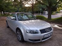 Audi A4 S-Line 2.5 TDI V6 Convertible / Cabriolet