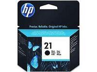 HP 21 Original ink cartridges for sale - Brand new in packaging