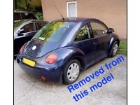 VW NEW BEETLE 2.0 PETROL BLUE BREAKING FOR ALL PARTS