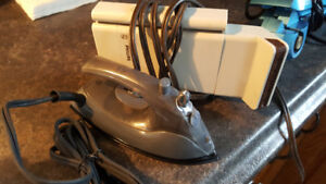 Travel iron or steamer for clothes