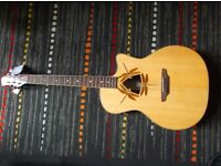 Luna Guitars OCL DFY Oracle Dragonfly Acoustic Electric Guitar.