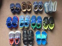 Adidas/Nike/Clarks baby boy toddler younger boy shoes bundle