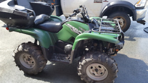2014 grizzly 700 power steering