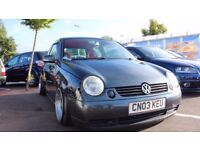 Volkswagen lupo bagged air ride airride