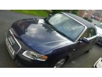 audi a4 convertible 2.0TFSI 200BHP automatic