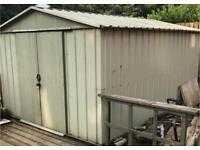 3m x 4m Metal Shed / Hut