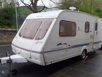 Swift Charisma Four Berth Touring Caravan