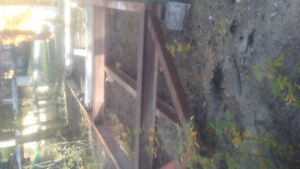 I Beam frame with pintal hitch 24' × 8'