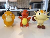 Pokemon toys! Electronic, Pen Pot and Moveable