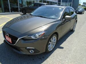 2014 Mazda Mazda3 *FULLY LOADED!! LEATHER, SUNROOF & MORE!* GT S