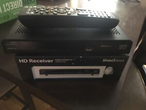 Shaw direct HD receiver non pvr 600 series