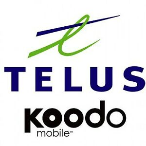 TELUS AND KOODO NATION OR USA PLANS