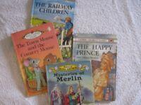 4 Children's Story Books (Old)
