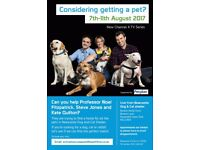 Considering getting a pet?