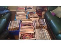 """90's House music 12"""" vinyl collection."""