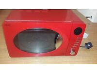 Microwave (NEXT) in RED color Excellent Condition