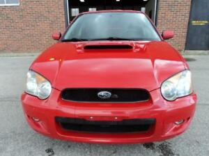 2004 Subaru Impreza WRX,Turbo,AWD, w/moonroof