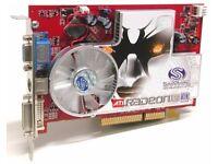 Sapphire ATI Radeon X1600Pro 512MB DVI/VGA/TV-Out AGP Video Card