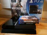 PS4 500GB with 2 controllers GTA V, Battlefield 1, Star Wars Battlefront