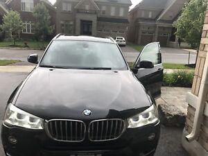 2015 BMW X3 2.8l Diesel Black sapphire 106,000km