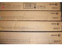 Xerox SET OF 4 GENUINE 006R01509/10/11/12