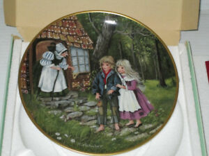 Hansel and Gretel, Kaiser Porcelain Plate