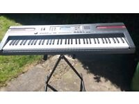 casio keyboard with stand and adaptor bargain