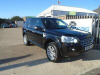 LAND ROVER FREELANDER 2 2.2 TD4 HSE 5dr Auto (black) 2008