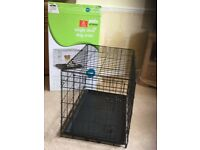 Dog Crate - single door - hardly used - small