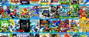 Collection de jeux de wii U à partir de 15$ AUBAINE LIQUIDATION!