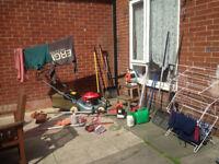 Garden tools for sale job lot honda lawnmower stihl blower strimmers